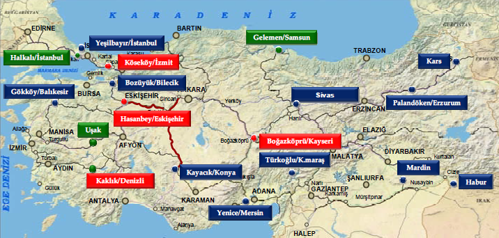 68 - Türkiye Lojistik Köyler - TCDD