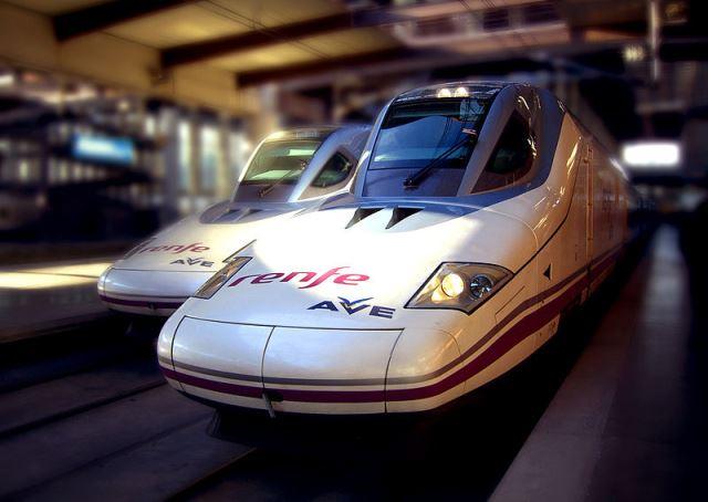 İspanya'da Yüksek Hızlı Tren
