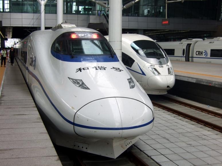 Çin'de Yüksek Hızlı Tren