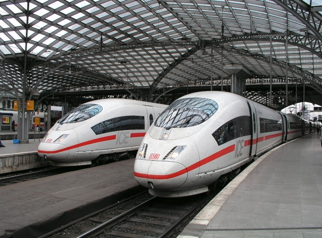 75 - Almanya'da yüksek hızlı tren Foto: Wikipedia