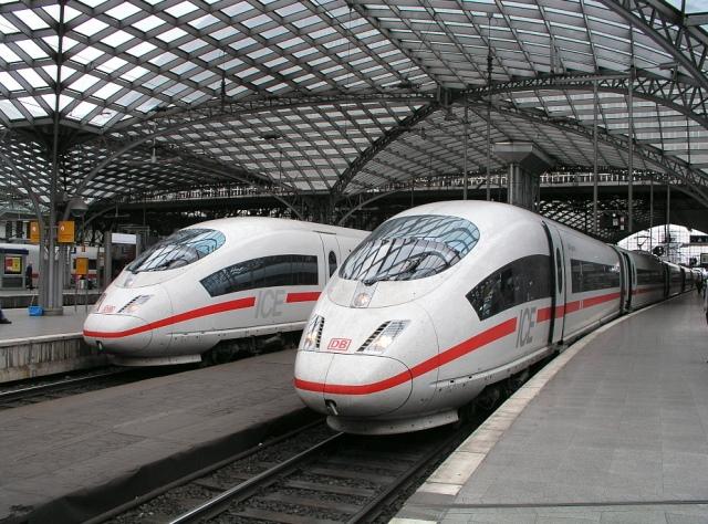Almanya'da Yüksek Hızlı Tren