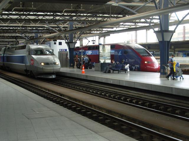 Fransa'da Yüksek Hızlı Tren