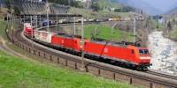 DB Schenker İntermodal Treni Almanya-İtalya Yolunda, Foto: P.Trippi-Services ©