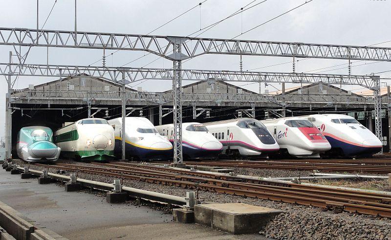 Japonya'da Yüksek Hızlı Tren