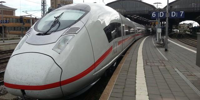 Siemens Velaro Yüksek Hızlı Treni
