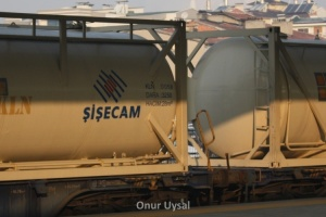 115 - Şişecam treni Konya istasyonunda - Onur