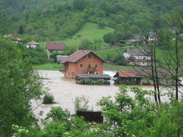 Sırbistan'da 2014 Sel Baskınları. Foto: Михаило Јовановић CC BY-SA 3.0