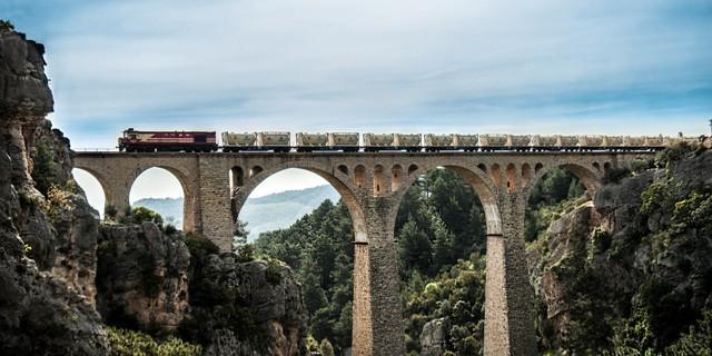 656 - Soda Treni Varda Köprüsü - KLN Lojistik