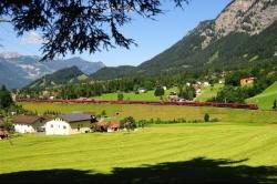 ÖBB Railjet, Arlberg, Avusturya
