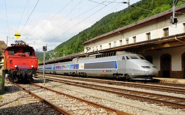 TGV Sud-Est, İsviçre