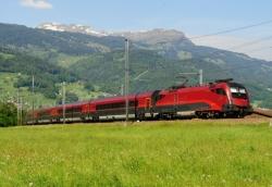 ÖBB Railjet, Avusturya