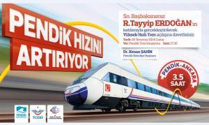 Ankara İstanbul Hızlı Treni Açılış Töreni