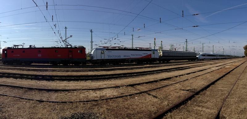 Yüksek Hızlı Tren Taşımacılığı. Foto: Thomas Hertinger ©