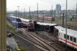 Mannheim İstasyonu'nda Tren Kazası. Foto: TrainHero ©