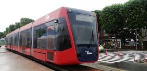 Hyundai Rotem catenary-free tram