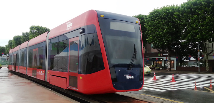 Hyundai Rotem akülü tramvay