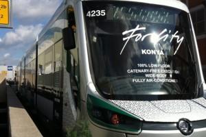167 - Konya Tramvayı Forcity, Skoda