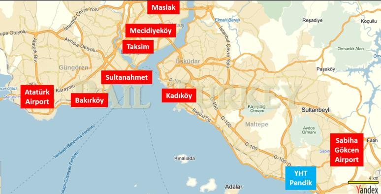 171 - İstanbul YHT ulaşım - Onur