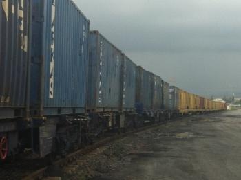 Payas'ta Konteyner Treni, 2014. Foto: Rail Turkey