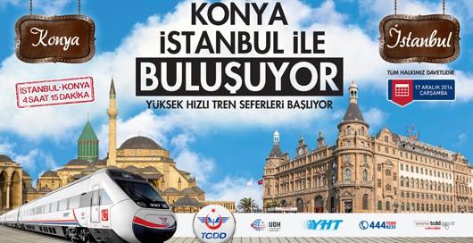 211 - İstanbul-Konya Hızlı Treni Açılışı