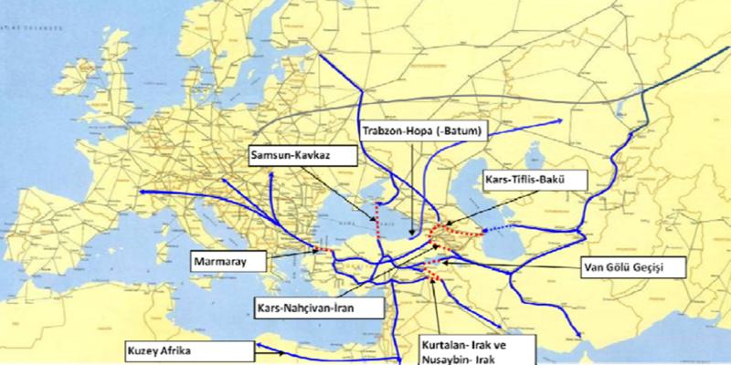 232 - Planlanan Uluslararası Demiryolu Bağlantıları