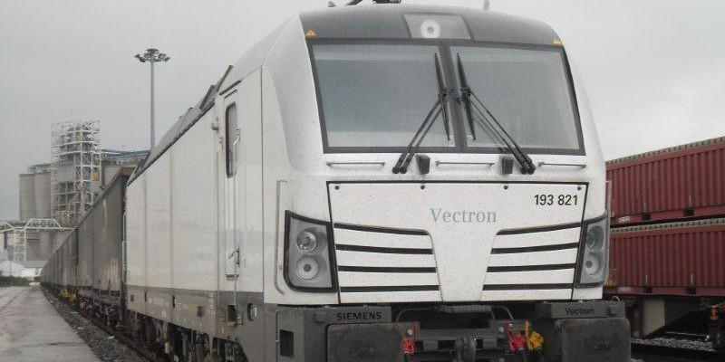 Vectron Lokomotifi Türkiye'de