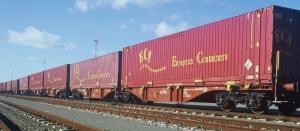 380 - ECS konteyner treni