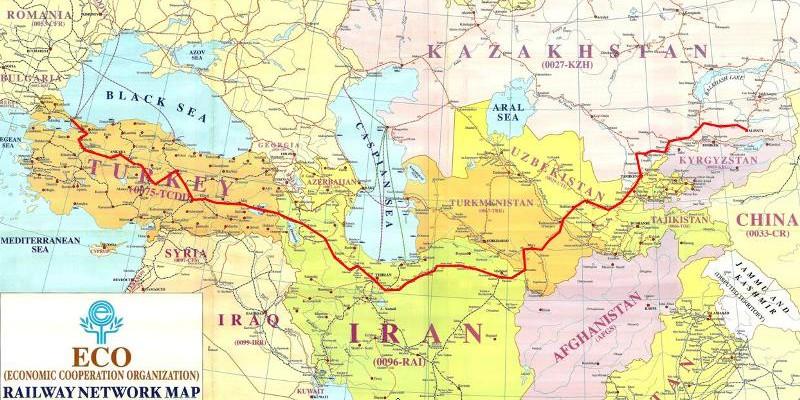 245 - ECO Blok Tren Güzergahı
