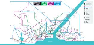 Istanbul Planlanan Raylı Sistemler