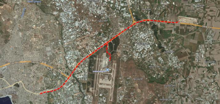 454 - Antalya Expo Raylı Sistemi