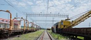 317 - Kars Baku Tbilisi railway -Azerbaijan Railways