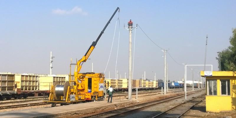 Demiryollarında Elektrifikasyon Çalışmaları
