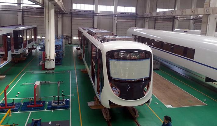İzmir yeni metro araçları - İzmir Büyükşehir Belediyesi