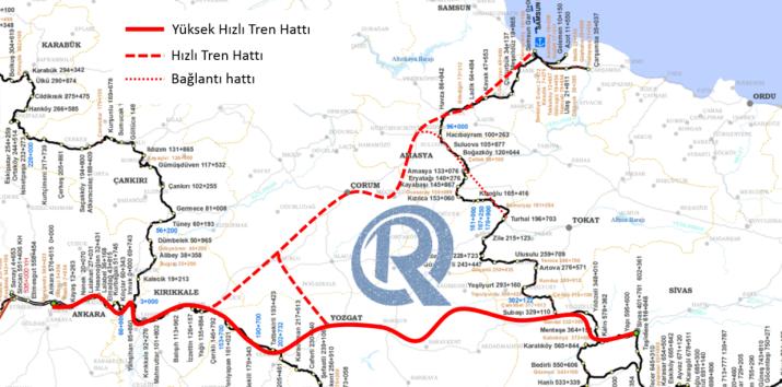 481 - Samsun Hızlı Tren Hattı