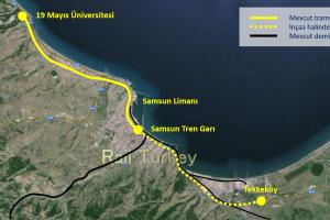 539 - Samsun Tramvay Güzergahları