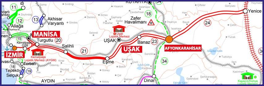 Ankara-İzmir yüksek hızlı tren hattı