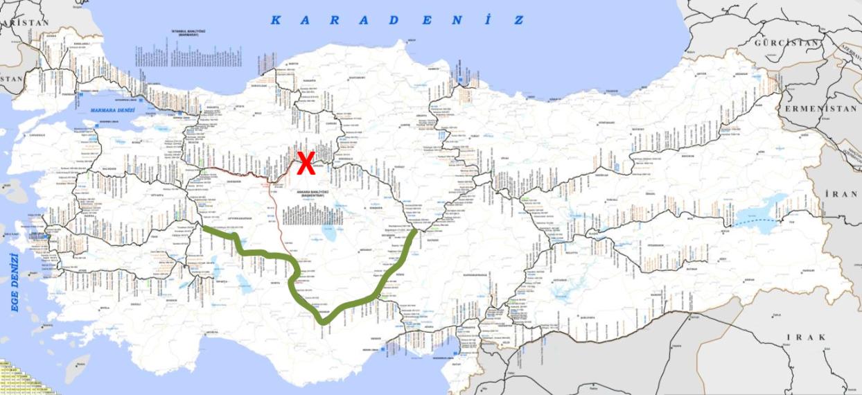 Ankara yol kapaması