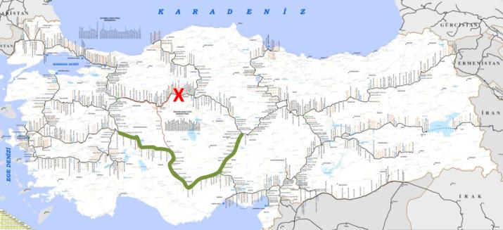 593 - Ankara yol kapaması