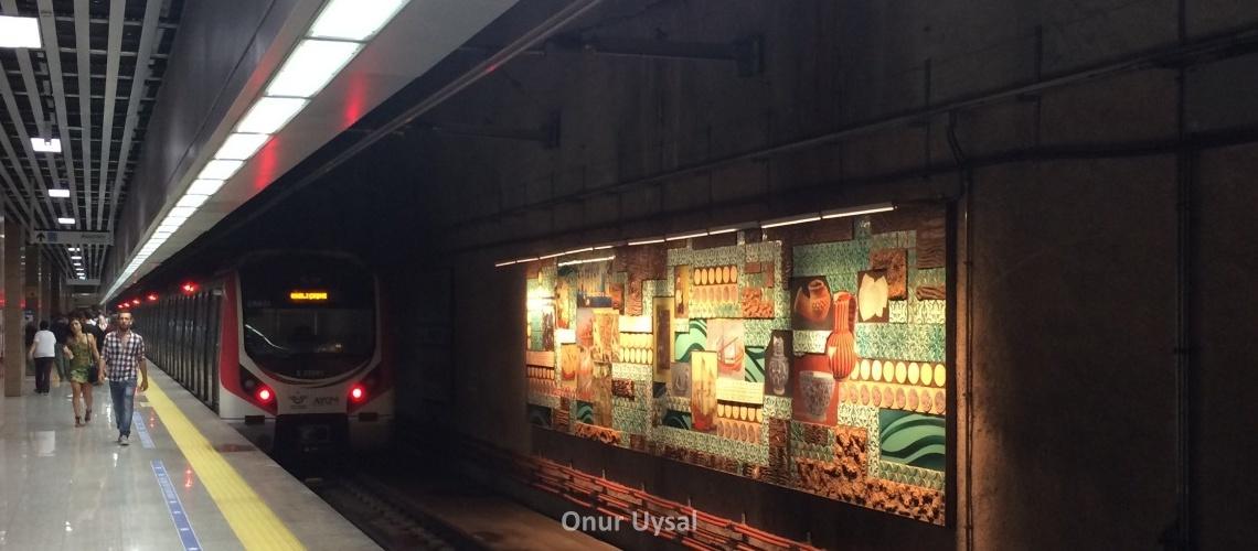 Yük trenlerinde Marmaray heyecanı