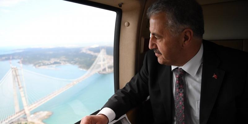 Ulaştırma Bakanı Ahmet Arslan