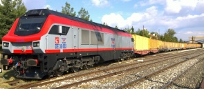 632 - TCDD container train - Jeff