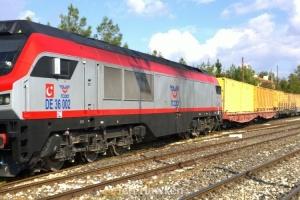 632 - TCDD container train - Jeff