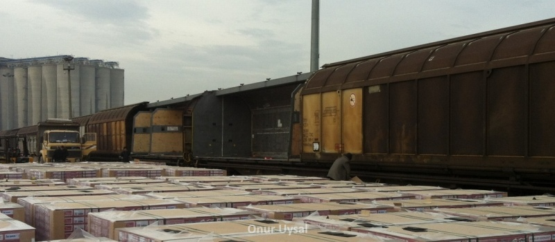 635 - Freight wagons at Derince - Onur