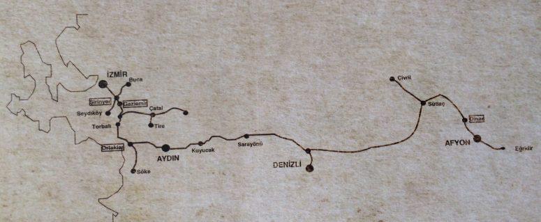 İzmir Aydın demiryolu