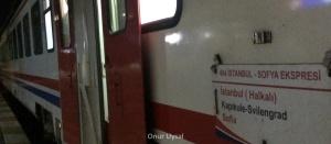 683 - İstanbul Sofya Treni - Onur