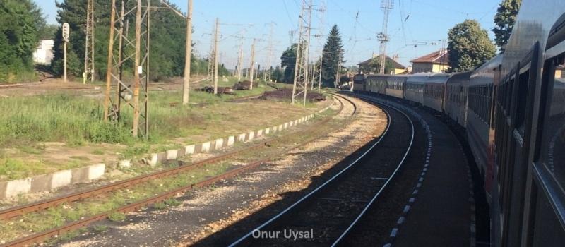 724 - İstanbul Sofya Treni - Onur