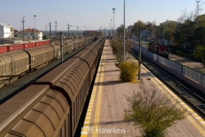 734 - Freight trains at Cerkezkoy - Jeff