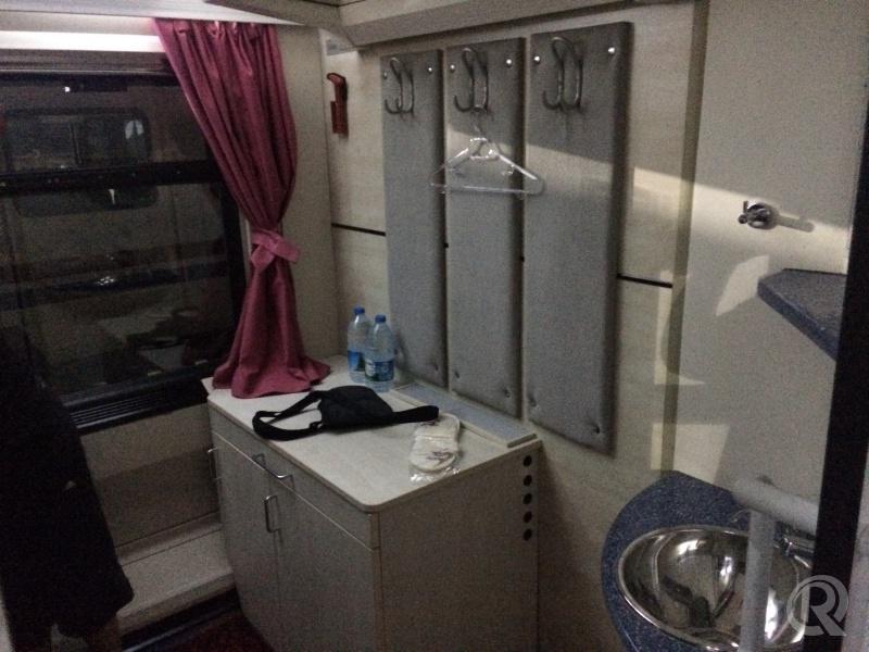 TCDD yataklı kompartıman - Onur3