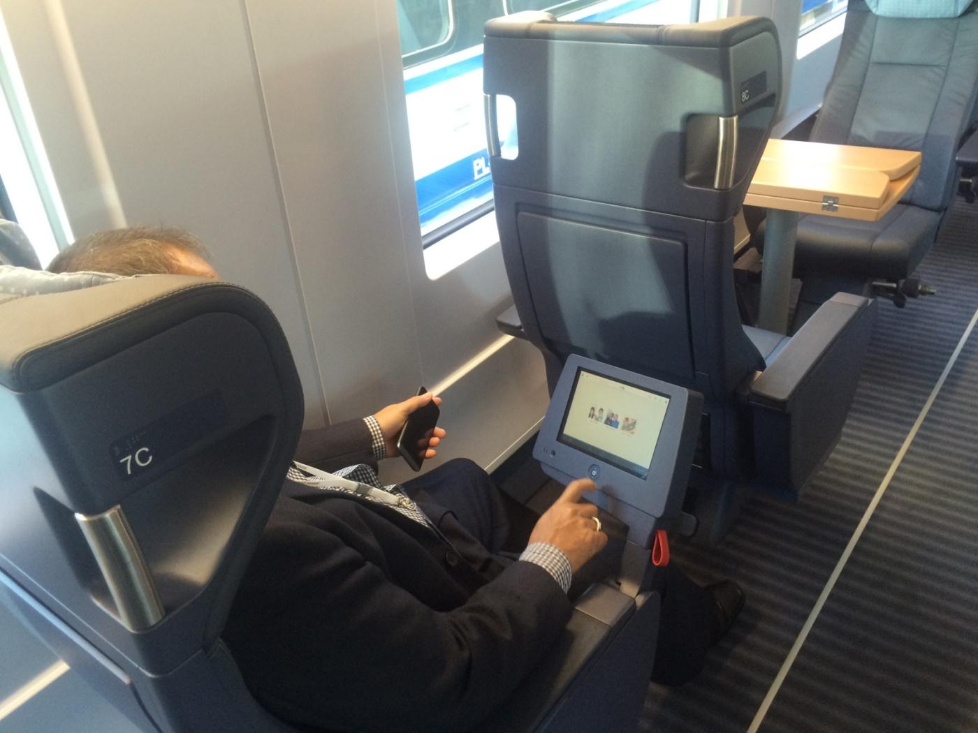 Page - Yeni hızlı tren business class