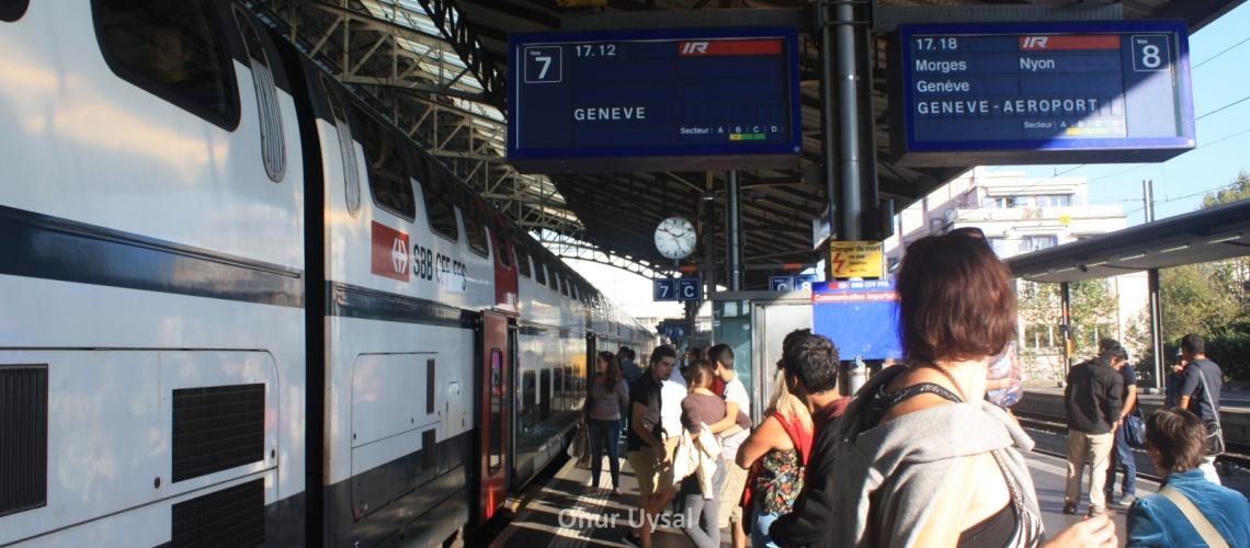 759 - Çift katlı tren - Onur
